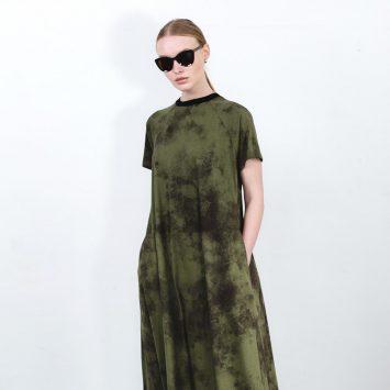 חדש!! שמלת מקסי אסיד PLUS