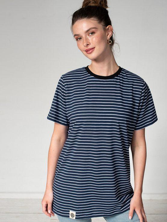 חולצת פסים כמו שצריך | כחול נייבי