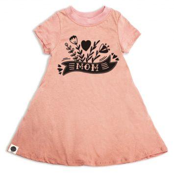 שמלת A עם כיסים MOM