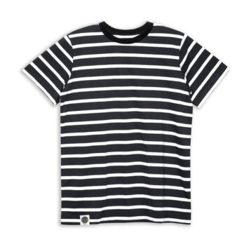 חולצת פסים כמו שצריך | שחור לבן