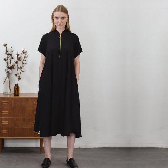 שמלת בומבר | שחור | 🔴PRE ORDER