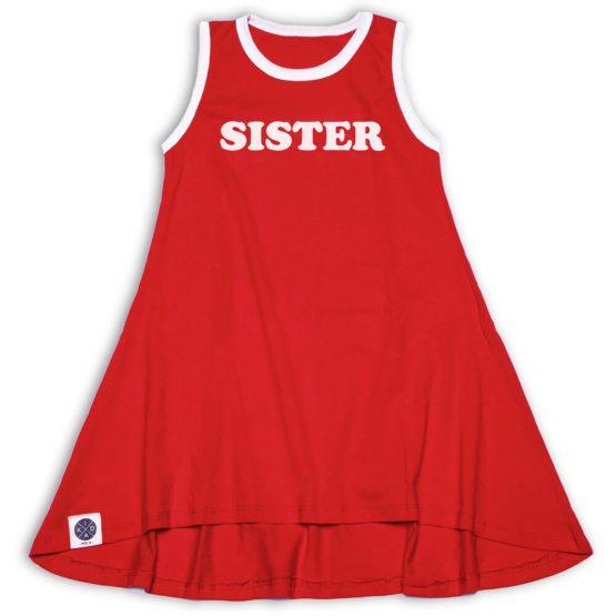 שמלת גופיה SISTER   אדום