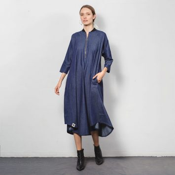 שמלת בומבר | ג'ינס 🔴 PRE ORDER