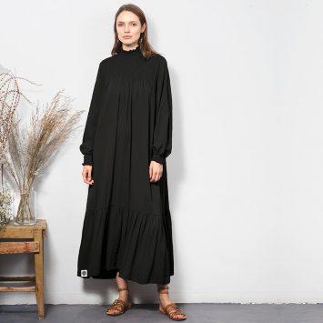 שמלת וואו! שחורה 🔴 35% PRE ORDER
