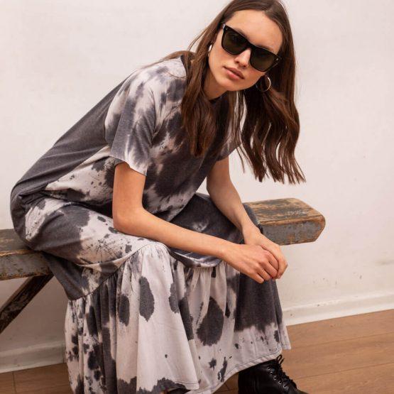 שמלת מקסי נף-נף מונסטון