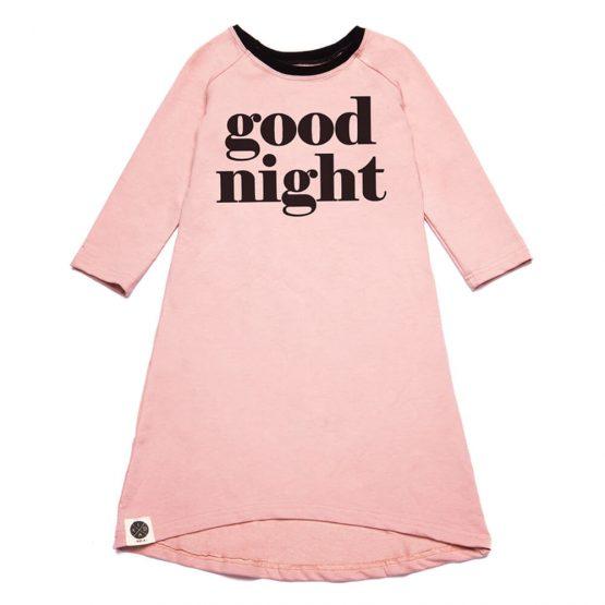שמלת לילה מקסי GN🌜| ורוד