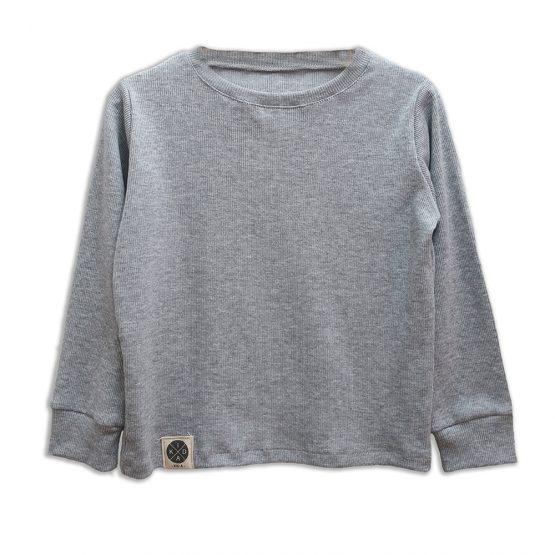 חולצת ריב מושלמת | אפור