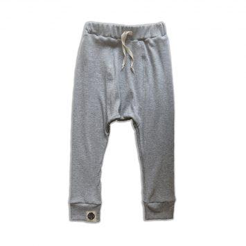 מכנסי ריב מושלמים | אפור