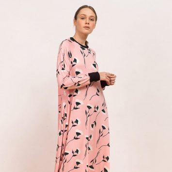 שמלת מקסי אינגליש ברקפסט