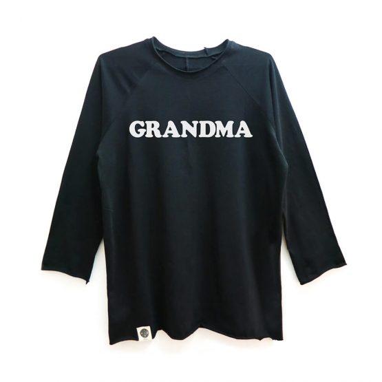 טי GRANDMA ארוך