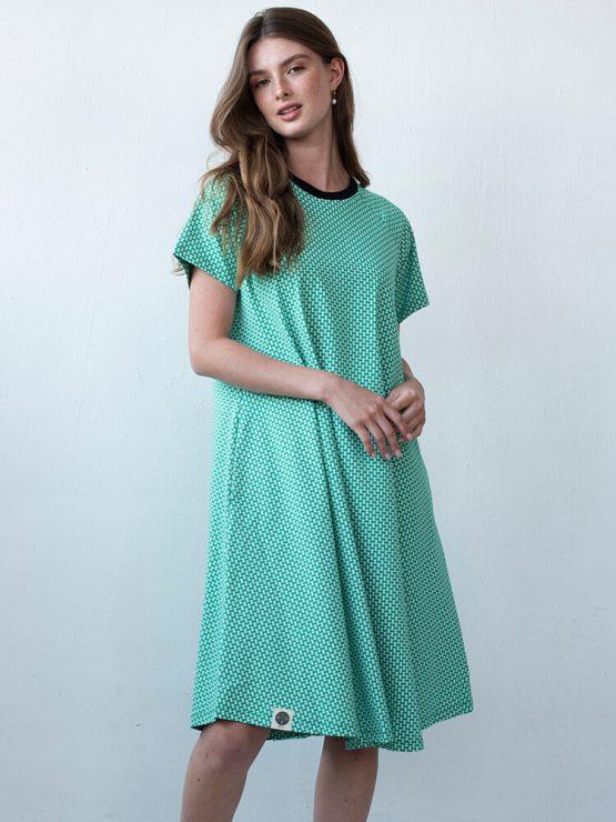 שמלת מידי אוריינטלית