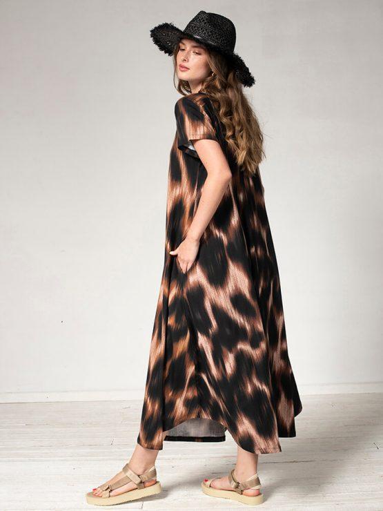 שמלת מקסי סאנסט