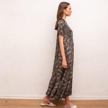 שמלת מקסי נף-נף ג'אנגל
