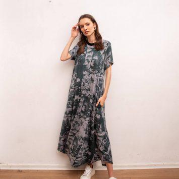 שמלת מקסי זירוקס