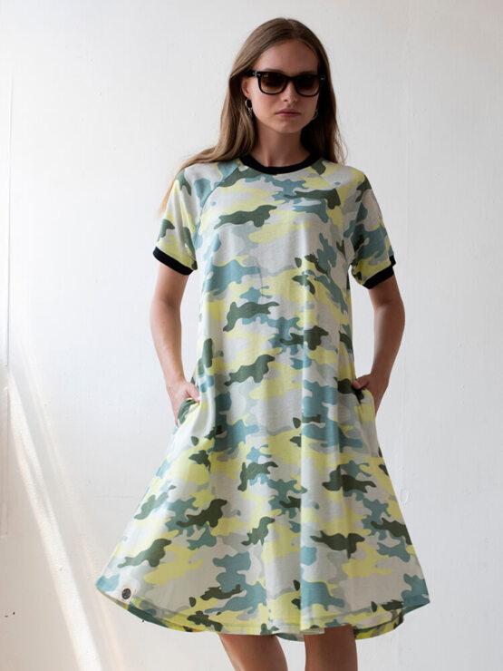 שמלת טי שירט רטרו | קמופלאז'