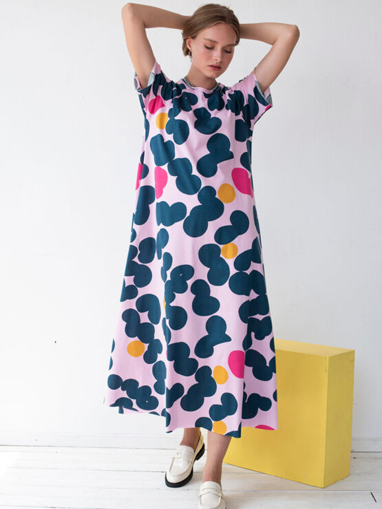 שמלת סווינג סוכריות