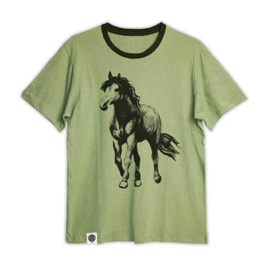 טי גברים סוס